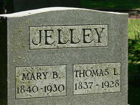JELLEY, MARY B. - Polk County, Iowa | MARY B. JELLEY
