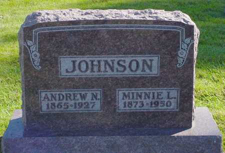 JOHNSON, MINNIE L. - Polk County, Iowa | MINNIE L. JOHNSON