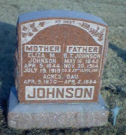 JOHNSON, ELIZA M. - Polk County, Iowa | ELIZA M. JOHNSON