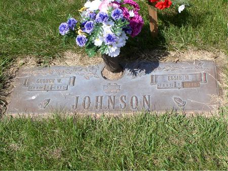 JOHNSON, GEORGE W - Polk County, Iowa | GEORGE W JOHNSON