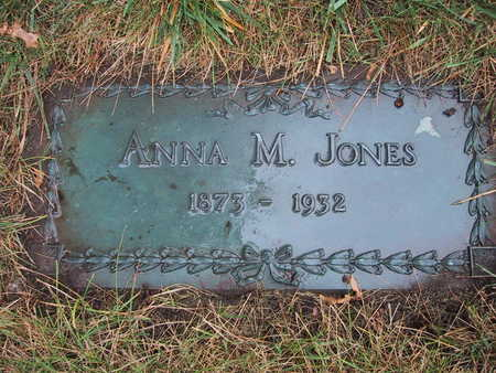 WAGNER JONES, ANNA M. - Polk County, Iowa | ANNA M. WAGNER JONES