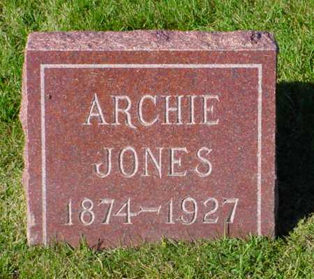JONES, ARCHIE - Polk County, Iowa | ARCHIE JONES