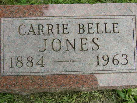 MCDONALD JONES, CARRIE BELLE - Polk County, Iowa | CARRIE BELLE MCDONALD JONES