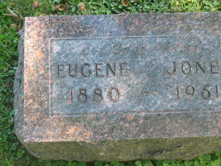 JONES, EUGENE - Polk County, Iowa | EUGENE JONES
