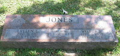 JONES, WILBUR P. - Polk County, Iowa | WILBUR P. JONES