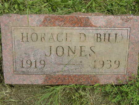 JONES, HORACE D (BILL) - Polk County, Iowa | HORACE D (BILL) JONES
