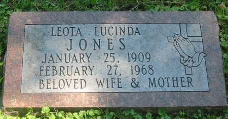 JONES, LEOTA LUCINDA - Polk County, Iowa | LEOTA LUCINDA JONES