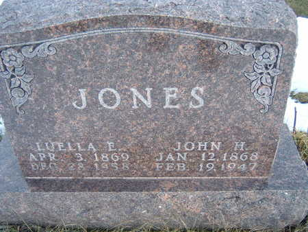 JONES, LUELLA E. - Polk County, Iowa | LUELLA E. JONES