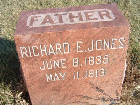 JONES, RICHARD E. - Polk County, Iowa | RICHARD E. JONES