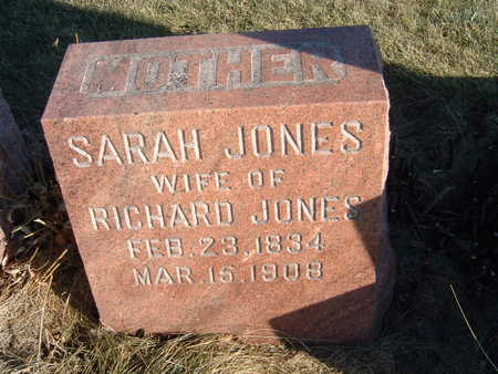 JONES, SARAH - Polk County, Iowa | SARAH JONES