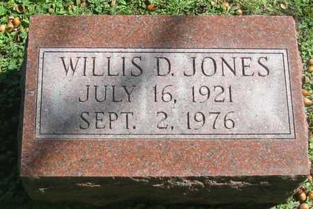 JONES, WILLIS D. - Polk County, Iowa | WILLIS D. JONES