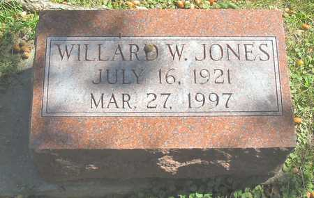 JONES, WILLARD W. - Polk County, Iowa | WILLARD W. JONES