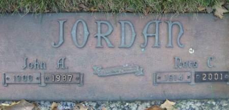 JORDAN, NORA C - Polk County, Iowa | NORA C JORDAN