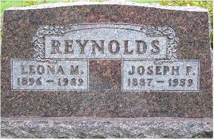 REYNOLDS, JOSEPH F. - Polk County, Iowa | JOSEPH F. REYNOLDS