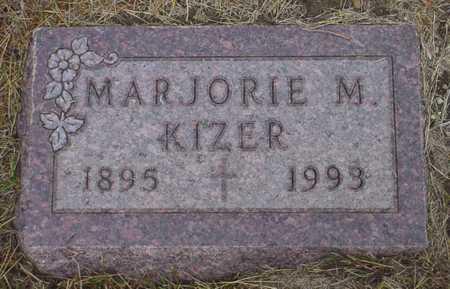 KIZER, MARJORIE M. - Polk County, Iowa | MARJORIE M. KIZER