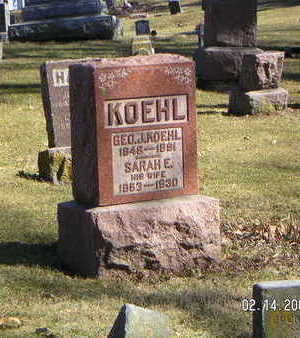 KOEHL, GEORGE J. - Polk County, Iowa | GEORGE J. KOEHL