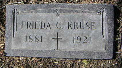 KRUSE, FRIEDA C. - Polk County, Iowa | FRIEDA C. KRUSE