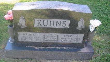 KUHNS, NAOMA F. - Polk County, Iowa | NAOMA F. KUHNS