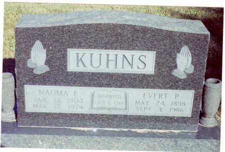 KUHNS, NAOMA - Polk County, Iowa | NAOMA KUHNS