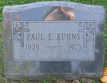 KUHNS, PAUL E. - Polk County, Iowa | PAUL E. KUHNS