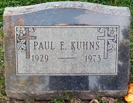 KUHNS, PAUL E. - Polk County, Iowa | PAUL E. KUHNS