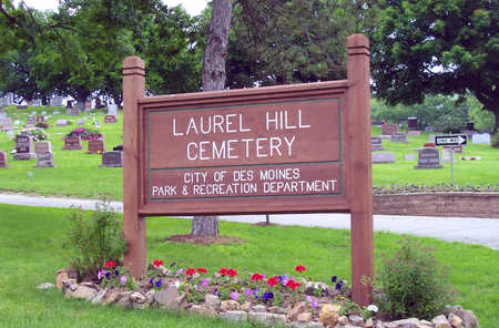 LAUREL HILL, CEMETERY - Polk County, Iowa | CEMETERY LAUREL HILL