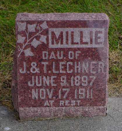LECHNER, MILLIE - Polk County, Iowa | MILLIE LECHNER