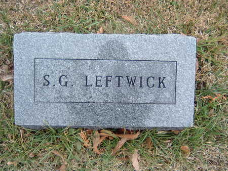 LEFTWICK, S. G. - Polk County, Iowa | S. G. LEFTWICK