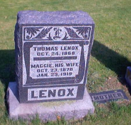 LENOX, THOMAS - Polk County, Iowa | THOMAS LENOX