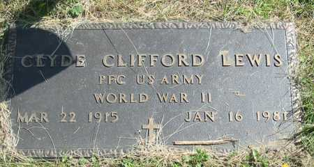 LEWIS, CLYDE CLIFFORD - Polk County, Iowa | CLYDE CLIFFORD LEWIS