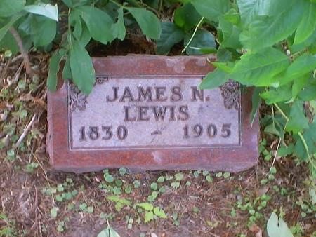 LEWIS, JAMES N. - Polk County, Iowa | JAMES N. LEWIS