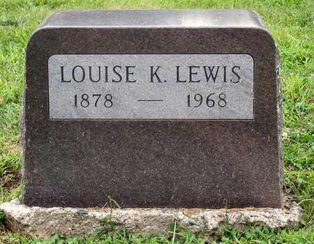 LEWIS, LOUISE K. - Polk County, Iowa | LOUISE K. LEWIS