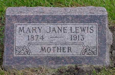 LEWIS, MARY JANE - Polk County, Iowa | MARY JANE LEWIS