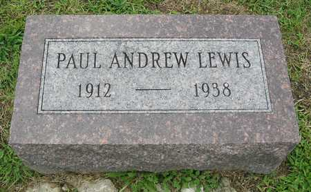 LEWIS, PAUL ANDREW - Polk County, Iowa | PAUL ANDREW LEWIS