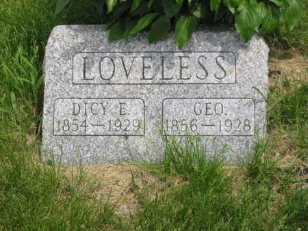 LOVELESS, DICY E. - Polk County, Iowa | DICY E. LOVELESS