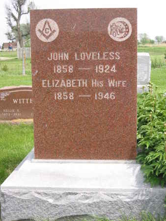 LOVELESS, JOHN - Polk County, Iowa | JOHN LOVELESS