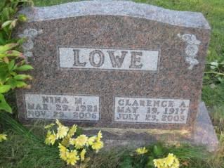 LOWE, CLARENCE - Polk County, Iowa | CLARENCE LOWE