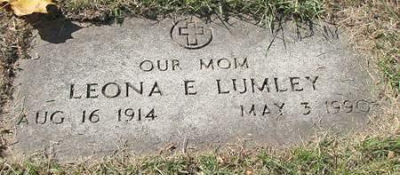 LUMLEY, LEONA ELIZABETH - Polk County, Iowa | LEONA ELIZABETH LUMLEY