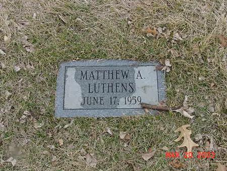 LUTHENS, MATTHEW A. - Polk County, Iowa | MATTHEW A. LUTHENS