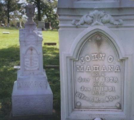 MAHANA, JOHN O. - Polk County, Iowa | JOHN O. MAHANA