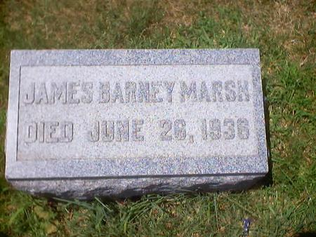 MARSH, JAMES BARNEY - Polk County, Iowa | JAMES BARNEY MARSH