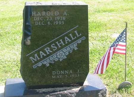 MARSHALL, HAROLD A. - Polk County, Iowa | HAROLD A. MARSHALL