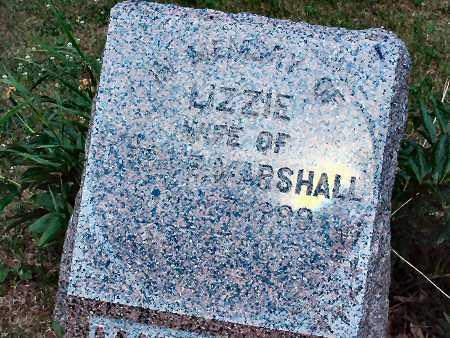 MARSHALL, LIZZIE - Polk County, Iowa | LIZZIE MARSHALL