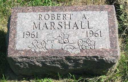 MARSHALL, ROBERT A. - Polk County, Iowa | ROBERT A. MARSHALL