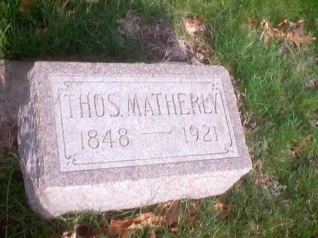 MATHERLY, THOMAS - Polk County, Iowa | THOMAS MATHERLY