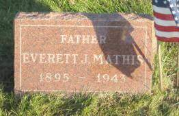 MATHIS, EVERETT - Polk County, Iowa   EVERETT MATHIS