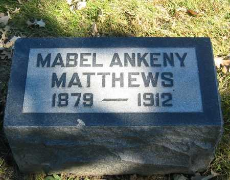 MATTHEWS, MABEL - Polk County, Iowa | MABEL MATTHEWS