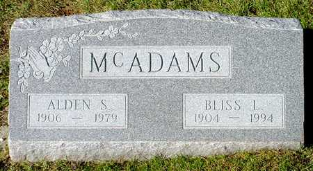 MCADAMS, BLISS L. - Polk County, Iowa | BLISS L. MCADAMS