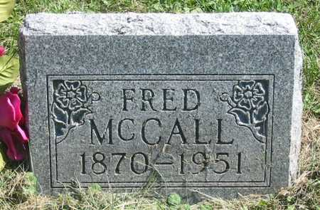 MCCALL, FRED - Polk County, Iowa | FRED MCCALL