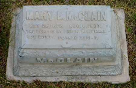 MCCLAIN, MARY E. - Polk County, Iowa   MARY E. MCCLAIN